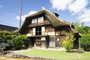 致道博物館 旧渋谷家住宅の写真素材 [FYI04948978]