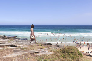 シドニーのビーチの写真素材 [FYI04948980]