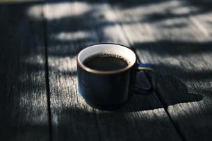 一杯のーコーヒーの写真素材 [FYI04949231]