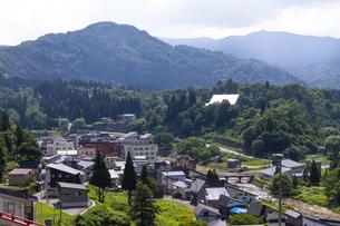 肘折温泉 山形県の写真素材 [FYI04949302]