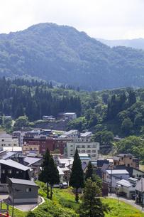 肘折温泉 山形県の写真素材 [FYI04949303]