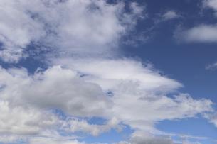 夏空/白い雲の写真素材 [FYI04949619]