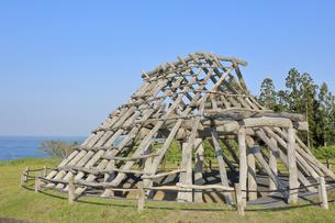 大船遺跡 竪穴住居の写真素材 [FYI04949944]