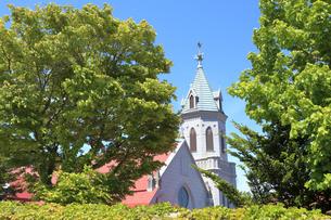 カトリック元町教会の写真素材 [FYI04949962]