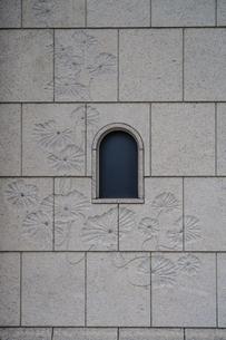 明治生命館石造りの壁面の写真素材 [FYI04950339]