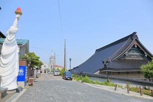 函館自由の女神像の写真素材 [FYI04951310]