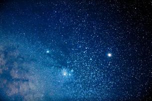 スーパーマーズと土星とアンタレスの写真素材 [FYI04951435]
