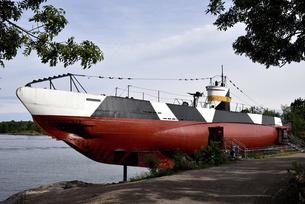 スオメンリンナ島 ヴェシッコ号の写真素材 [FYI04951688]