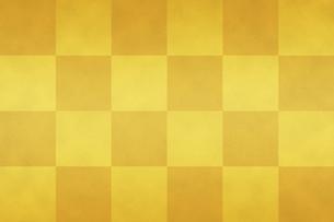 市松模様の金屏風のイラスト素材 [FYI04952005]