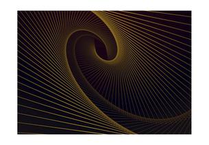 螺旋の線の幾何学模様パターンのバックグラウンドのイラスト素材 [FYI04952514]