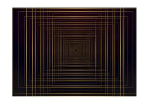 四角の線の幾何学模様パターンのバックグラウンドのイラスト素材 [FYI04952516]