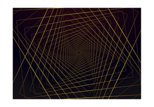四角の線の幾何学模様パターンのバックグラウンドのイラスト素材 [FYI04952519]
