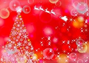 クリスマスの背景素材 フレームのイラスト素材 [FYI04952872]