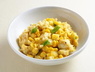 野菜と卵の炒め物の写真素材 [FYI04952873]