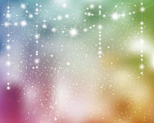 輝きとぼかしのグラデーション背景のイラスト素材 [FYI04953054]