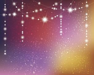 輝きとぼかしのグラデーション背景のイラスト素材 [FYI04953999]
