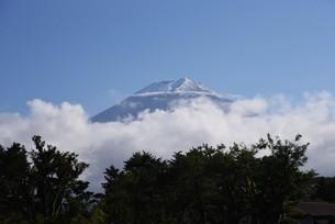 富士山初冠雪 2921年9月26日の写真素材 [FYI04954189]
