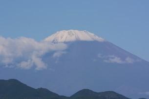 富士山初冠雪 2921年9月26日の写真素材 [FYI04954192]