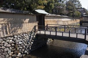 武家屋敷跡、大野庄用水の写真素材 [FYI04955724]