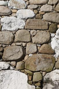 今治城の石垣の写真素材 [FYI04955834]