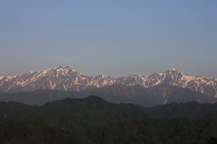 北アルプス後立山連峰の写真素材 [FYI04958111]