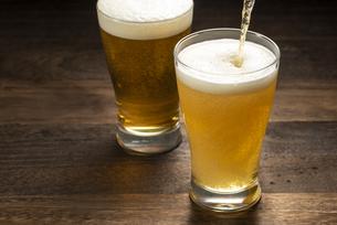 グラスビールの写真素材 [FYI04958871]
