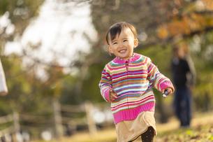 公園で遊ぶ赤ちゃんの写真素材 [FYI04959378]