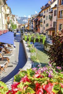 フランスの美しい町アヌシーの写真素材 [FYI04961241]