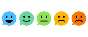 感情を表すバロメーターのイラストレーションのイラスト素材 [FYI04962915]