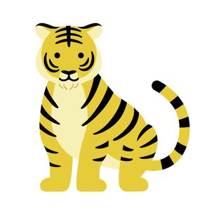 虎のイラスト素材 寅年のイラスト素材 [FYI04964013]